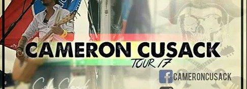 Cameron Cusack Tour 2017